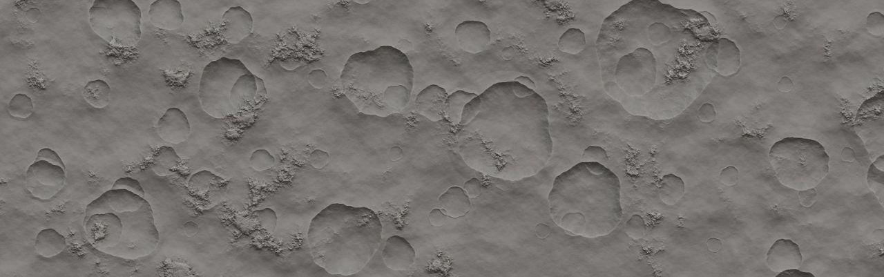 Un cratere non basta